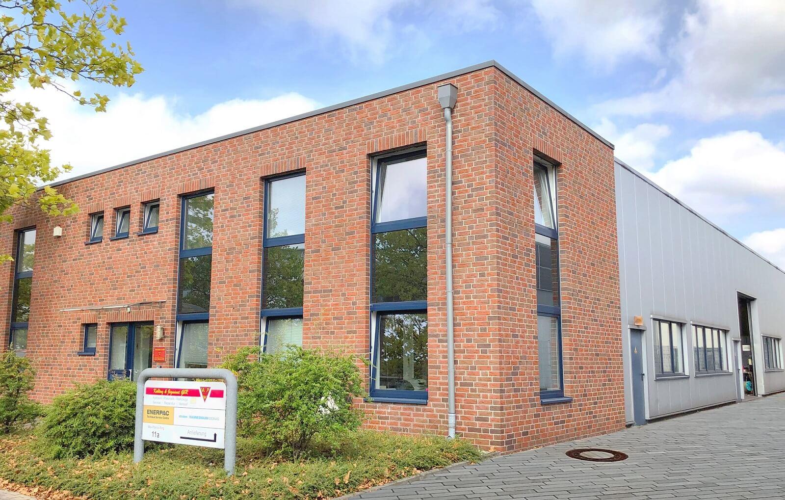 Das Firmengebäude der Firma Koblenz & Jegminat GbR